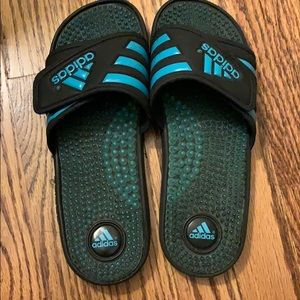 adidas Shoes - Adidas Slide On Sandals with Grips